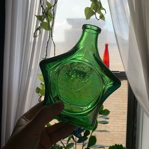 Other - 🏠 [home] glass star bottle/bud vase